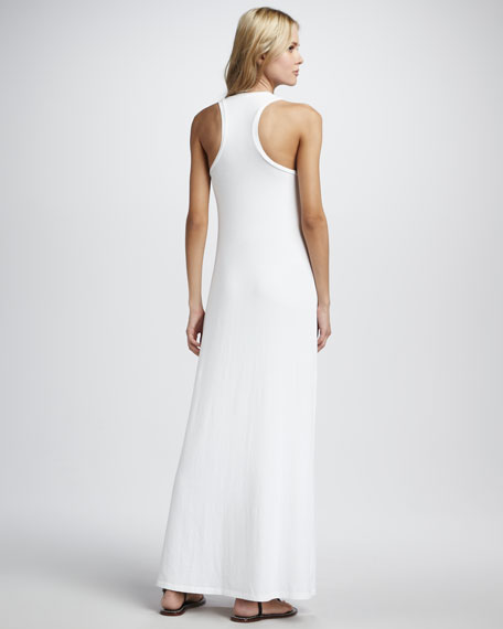 Sleeveless Tank Maxi Dress