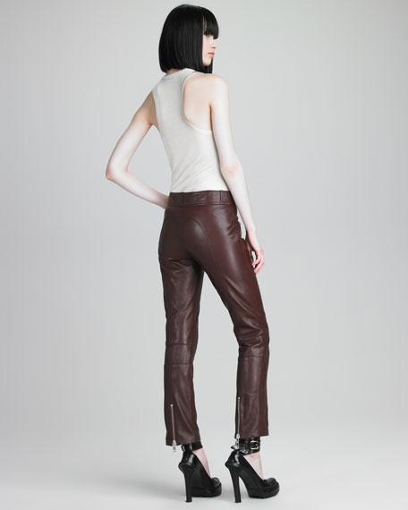 Lambskin Pants