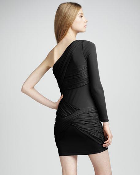 One-Shoulder Goddess Dress