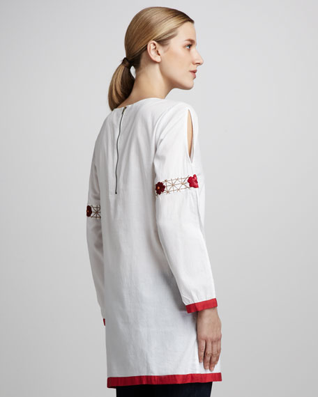 Frances Embroidered Blouse