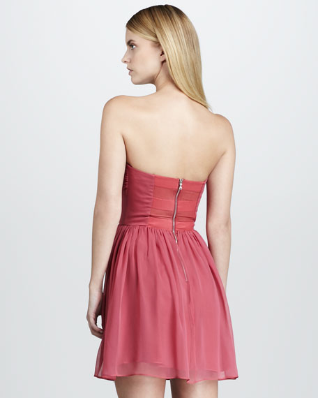 Strapless Sweetheart Dress
