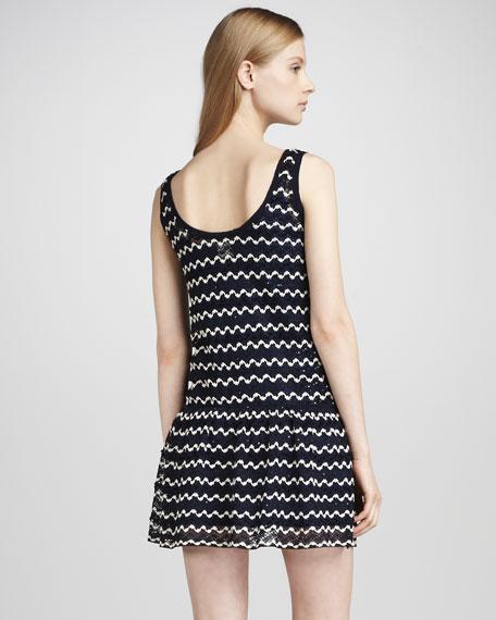 Zigzag-Crochet Dress