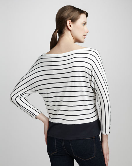 Sagittarius Boat-Neck Top