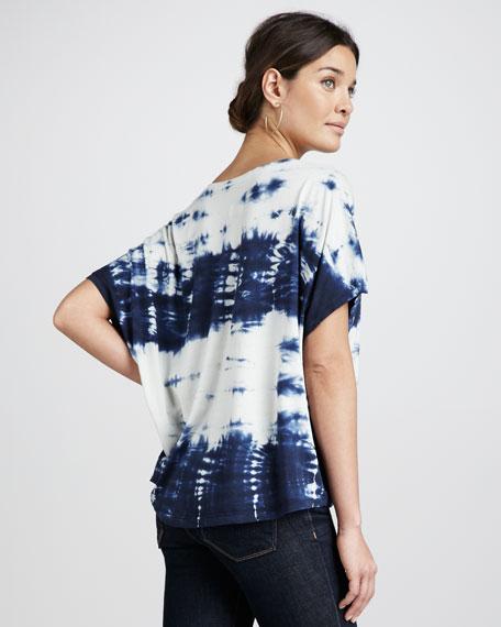 Tie-Dye Knit Top