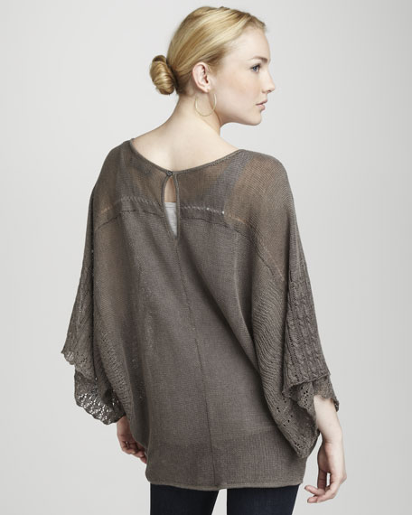 Linen & Lace Moie Stitch Tunic