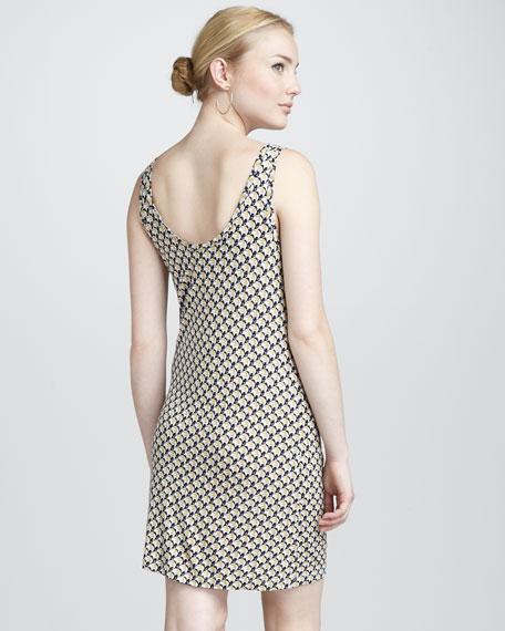 Javana Elephant-Print Dress