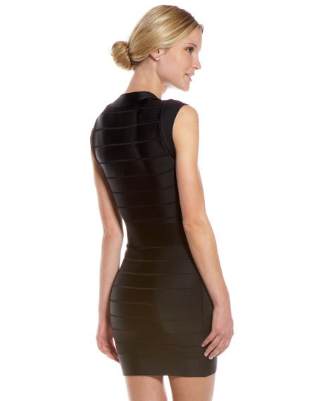 Spotlight Bandage Dress, Black (CUSP Most Loved!)
