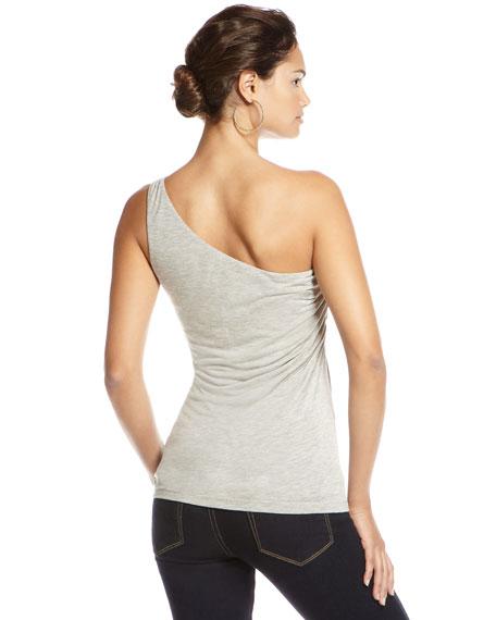 One-Shoulder Ruched Top