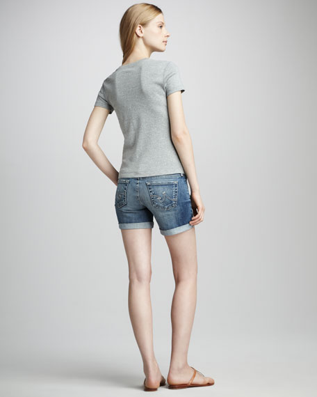 City Denim Shorts