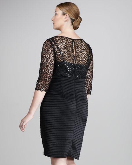Lace-Top Bandage Dress, Women's