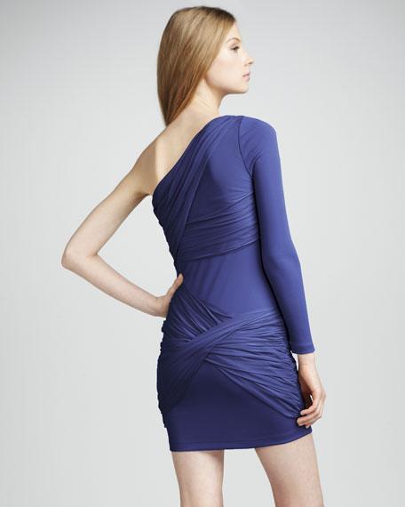 One-Sleeve Goddess Dress