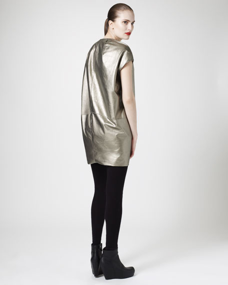 Metallic Tunic