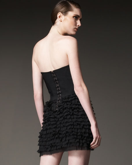 Tiered Cocktail Dress