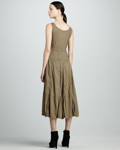 Full-Skirt Parachute Dress