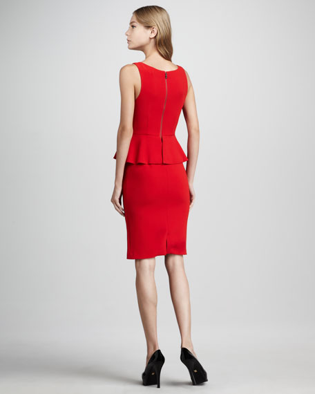 Tracey Peplum Dress