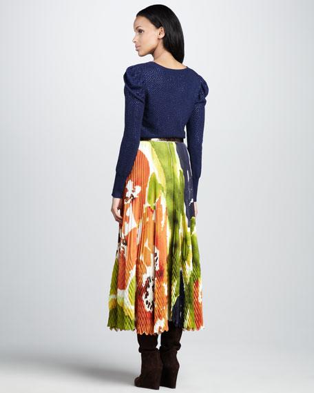 Cleo Printed Skirt