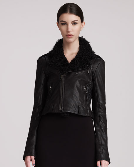 Short Shearling Jacket