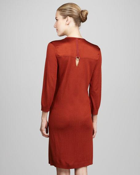 Keyhole Pocket Dress