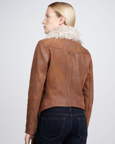 Laurel Tigrado-Trim Jacket
