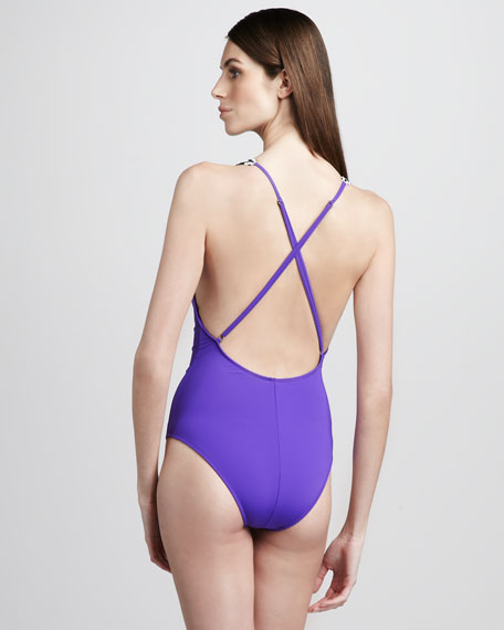 Bead-Strap Twist One-Piece