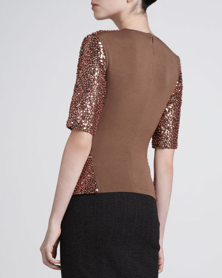 Jersey-Back Top