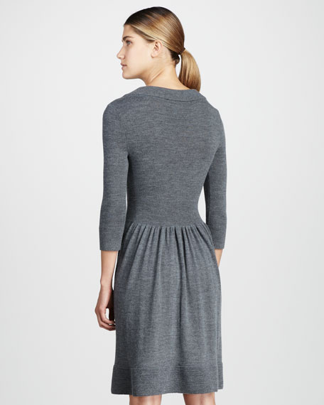 charlie knit bow dress