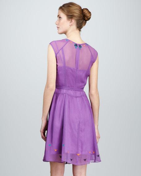 Distant Thunder Embellished Dress