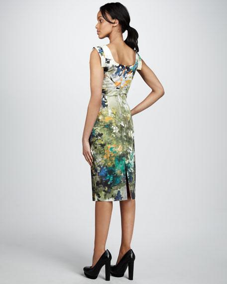 Jackie Floral-Print Dress