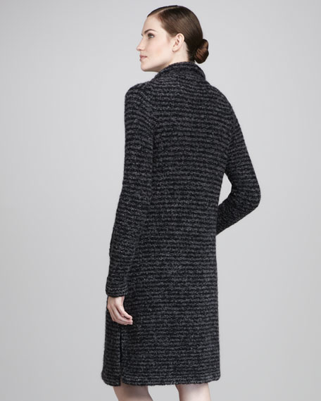 Midi Lightweight Knit Coat