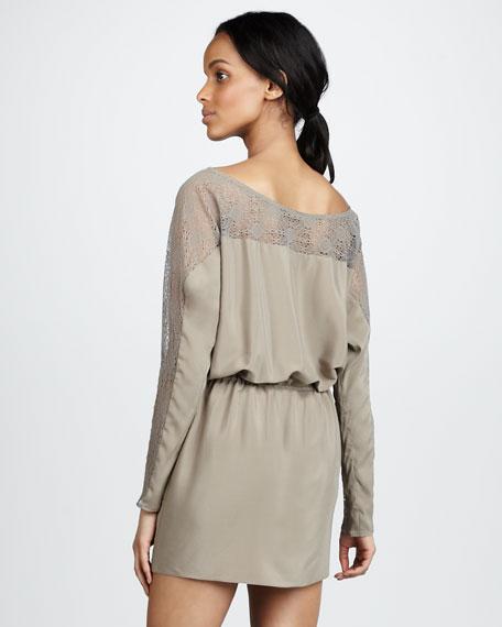 Gaston Drawstring-Waist Dress