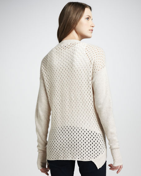 Perforated Pullover