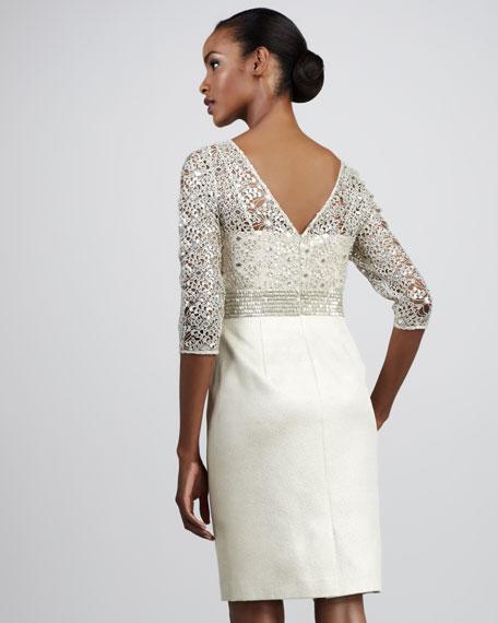 Bead-Top Cocktail Dress