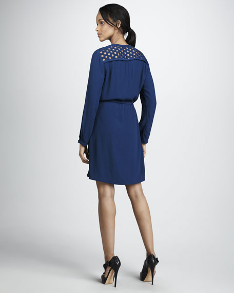 Bernadette Basket-Neck Dress