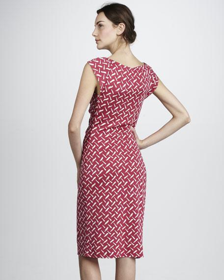 Gabi Printed Jersey Dress