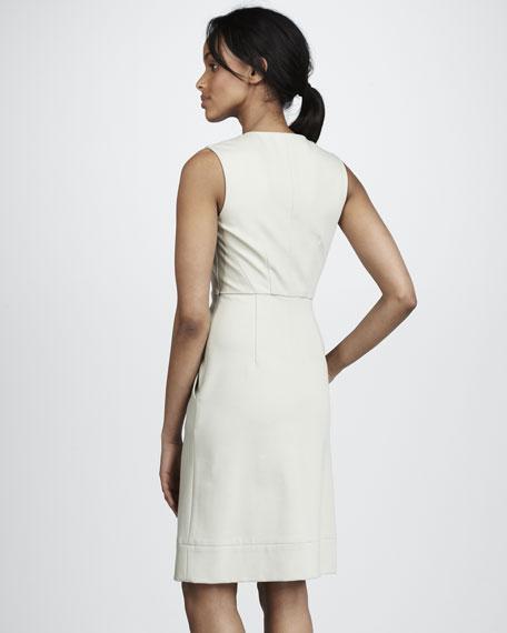 Alois Sleeveless Crepe Dress