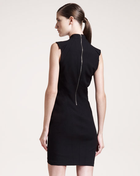 Pixel Seamed Dress