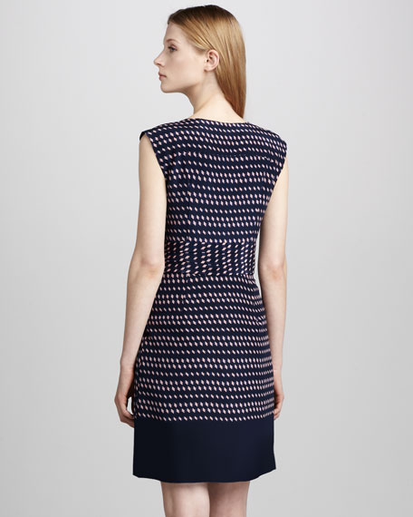 Marlow Banded-Waist Dress