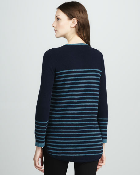 Odessa Striped Knit Tunic
