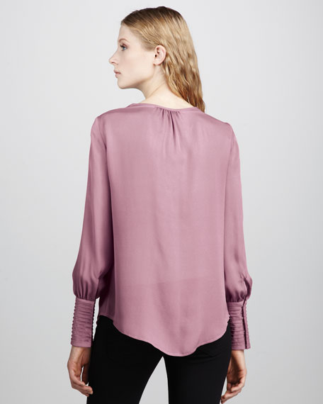 Chantal Silk Blouse