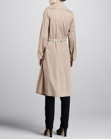 Belted Tech Trenchcoat