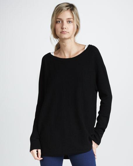Boat-Neck Sweater
