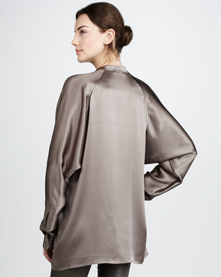 Silk Satin Top