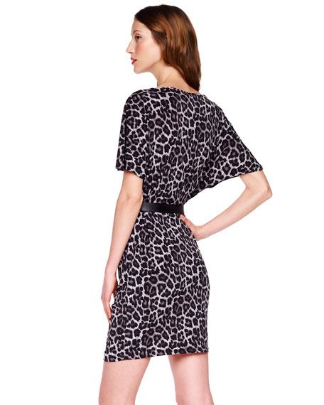 Animal-Print Dress, Women's