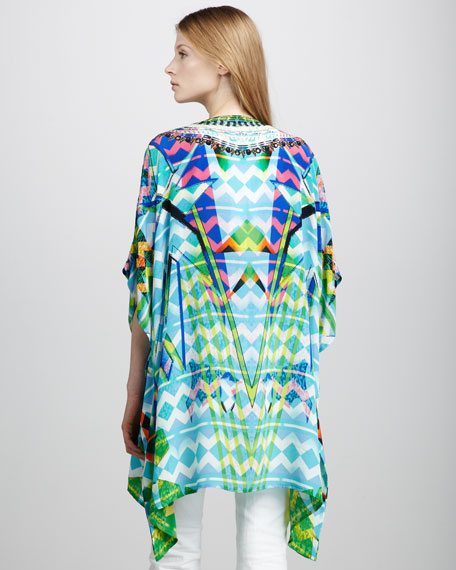 Lace-Up Caftan