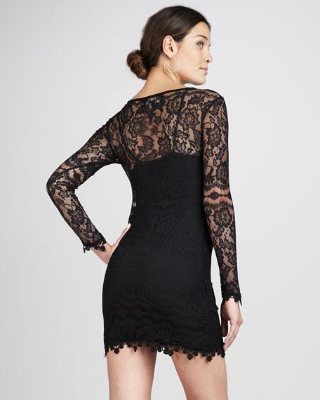 Scarlet Lace Dress