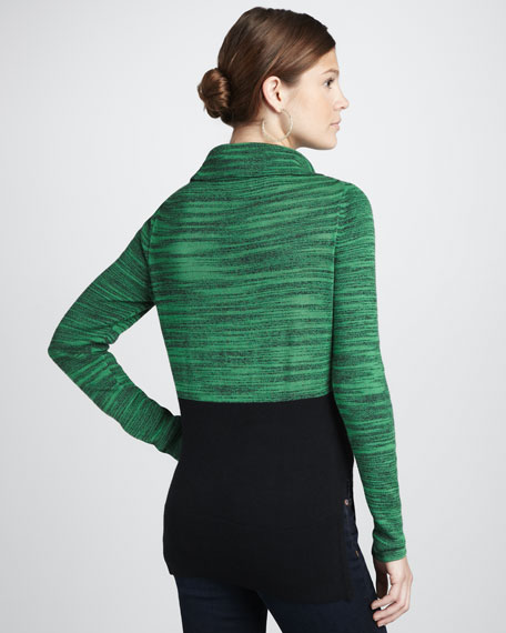 Envy Two-Tone Sweater