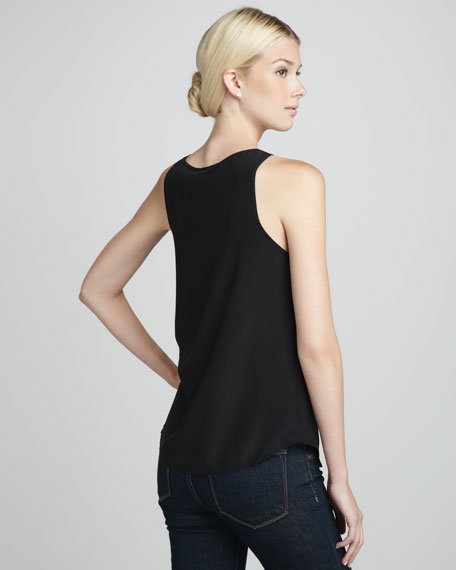 Winter Silk Tank