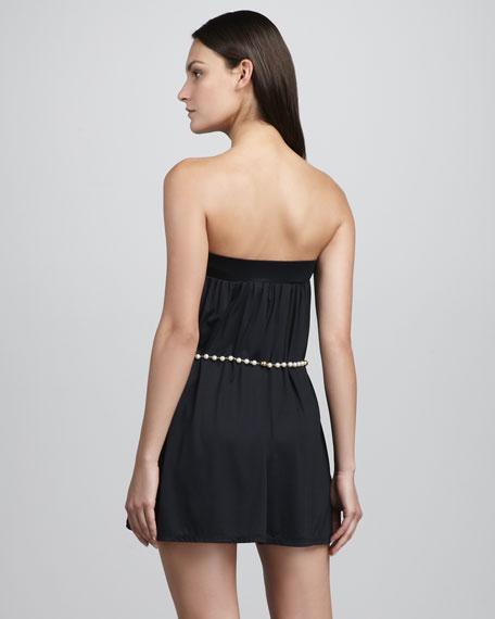 Majestic Pearl Mini Coverup Dress