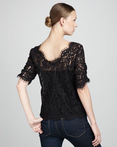 Nevina Lace Top