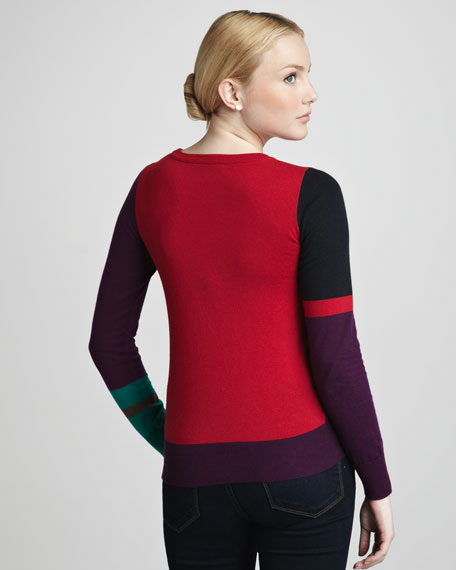Jazz-Block Sweater